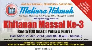 KHITANAN MASSAL KE-3